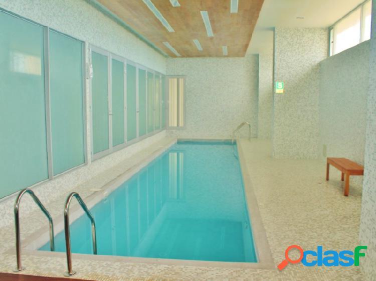 Alquiler departamento de lujo en miraflores vista al mar 3 dormitorios terraza piscina