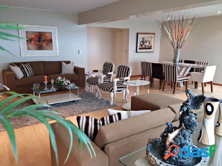 Departamento en alquiler en miraflores exclusivo con vista al mar amoblado 3 dormitorios