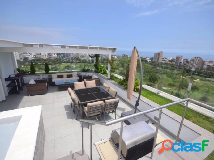 Penthouse Duplex en Venta con vista al Golf - San Isidro