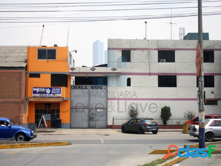 Local industrial en venta los olivos - ovalo naranjal