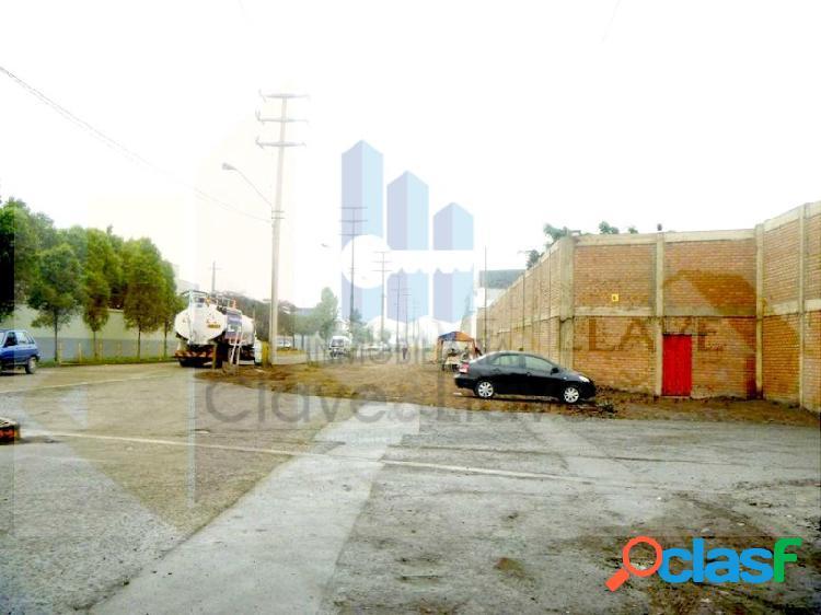 Terreno Industrial en Venta - Ate Vitarte cerca al Mercado Mayorista 1