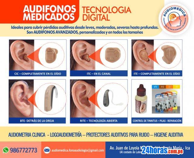 Audifonos Medicados para sordera