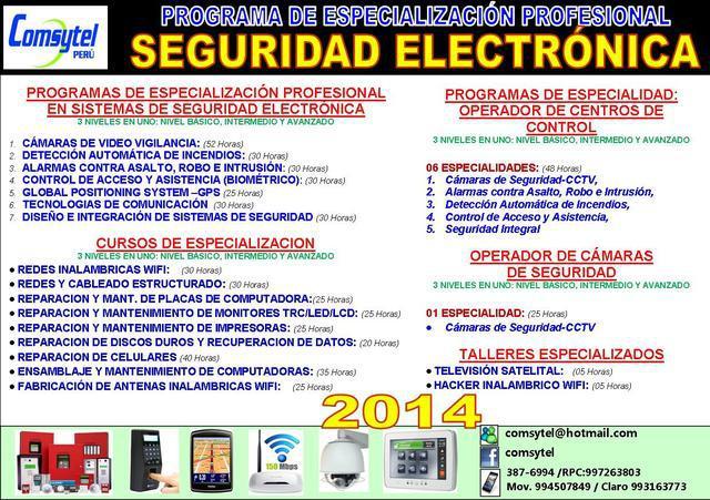 Curso tecnico instalacion de camaras de vigilancia y alarmas