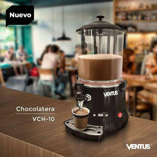 Chocolatera o dispensadora de bebidas calientes ventus
