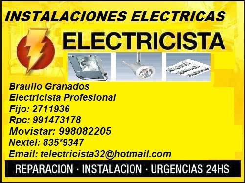 Comprometidos con usted? servicios electricos de primera