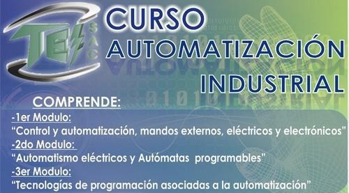 Curso de especialización en automatización industrial