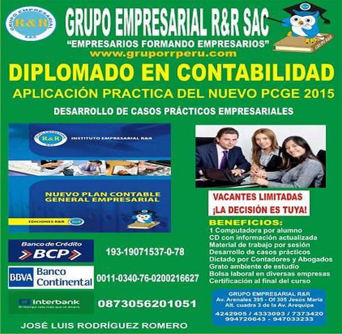 Diplomado contable, contabilidad empresarial, contabilidad