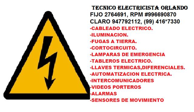 Electricidad servicios generales