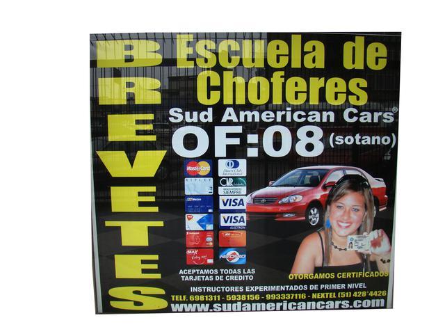 Escuela de conductores ·· $ud american cars··