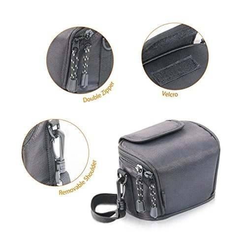 Fosoto bolsa cámara para nikon coolpix l330 l340 l320 l310