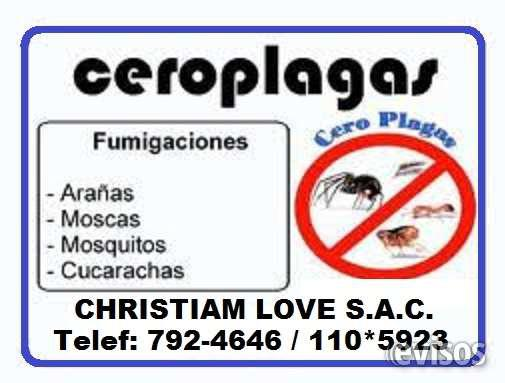Fumigadores christiam love sac (amor cristiano) 792-4646 en