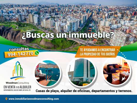 Inmobiliaria woodman consulting – propiedades en alquiler