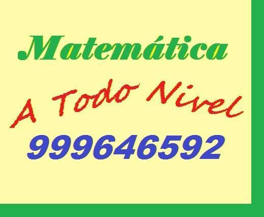 Matematica. a domicilio