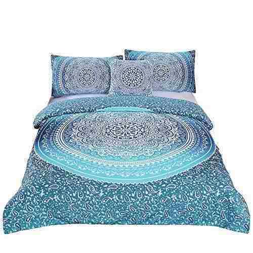 Mandala dormido arriba ropa de cama, poliester y mezcla de p