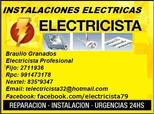 Multisevicios** eléctricos en general 24 horas