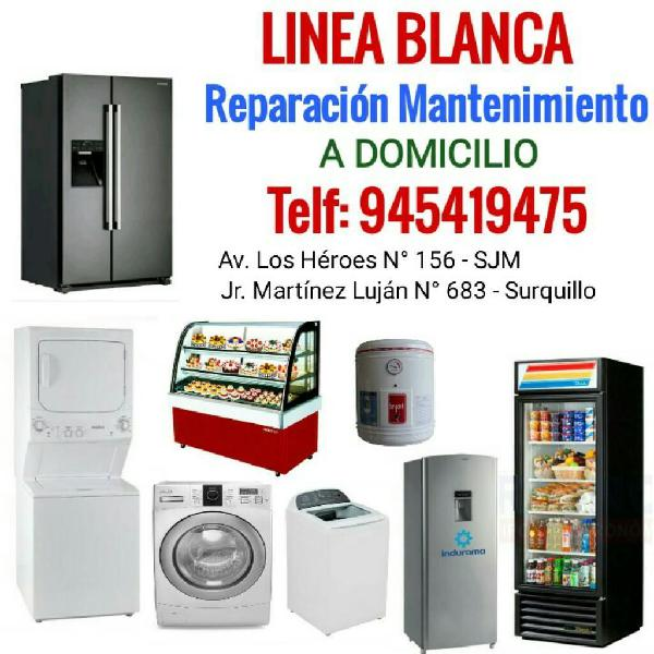 Reparacion de lavadoras refrigeradoras