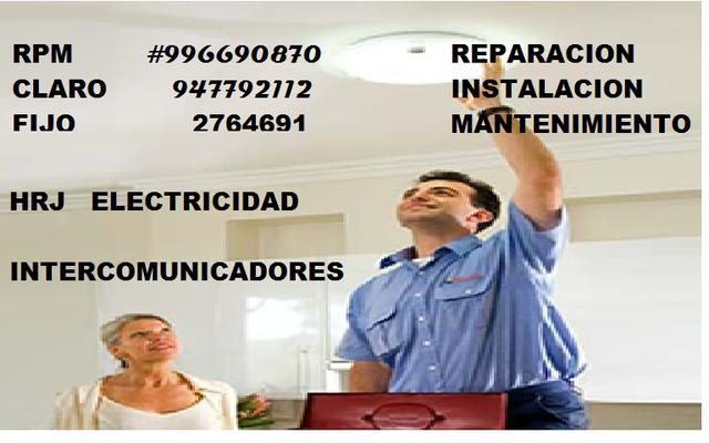 Reparaciones eléctricas en general en lima
