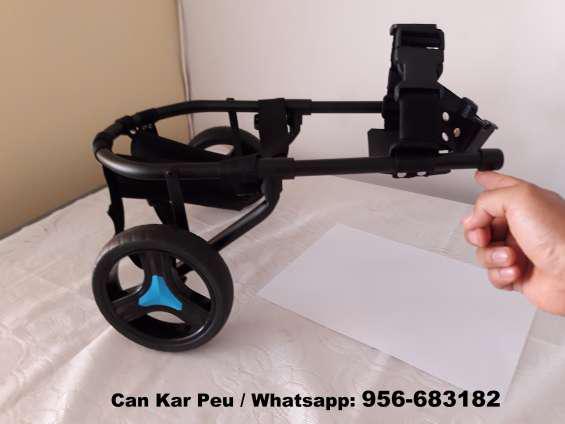 Silla de ruedas para perros con discapacidad en ica