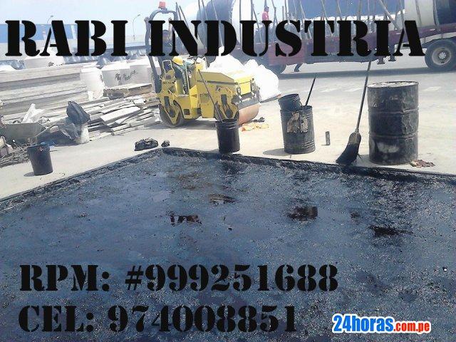 Venta de asfalto rc-250, emulsion asfaltica, manto asfaltico