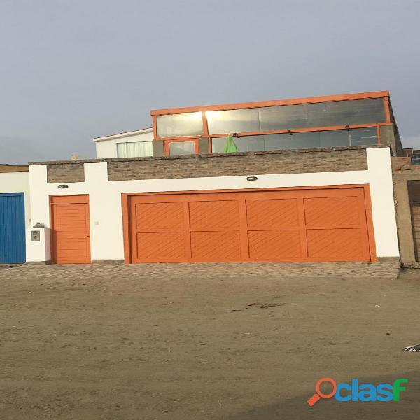 Casa de playa km 103 rosario de asia frente al mar