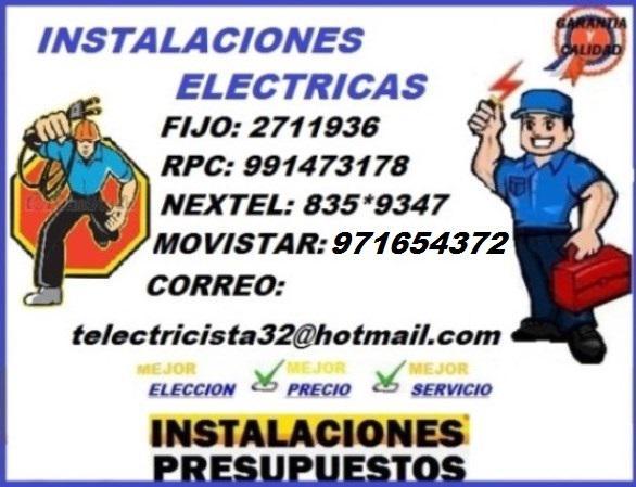 Grave su situacion electrica// brindamos// service