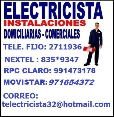 Ofrezco //servicios/electricos a bajo costo/electricista