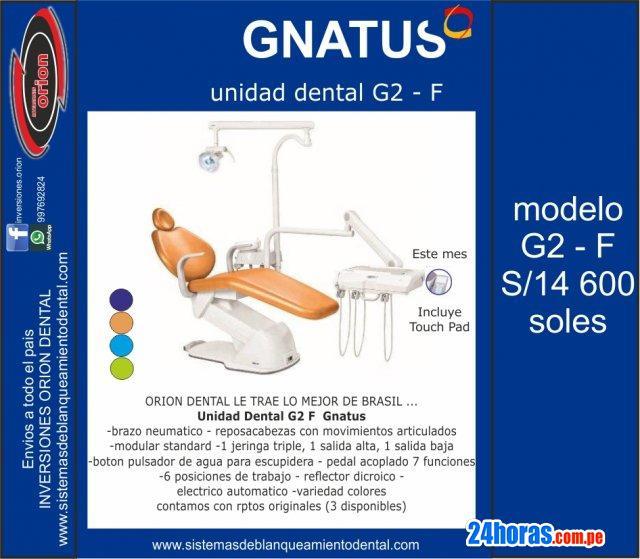 Sillon dental electrico gnatus