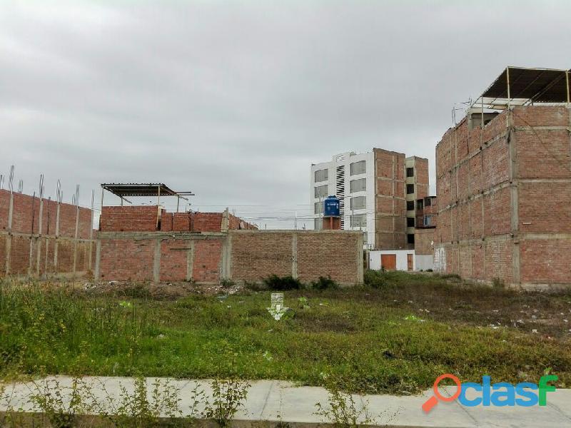 Se vende terreno en urbanización la purísima