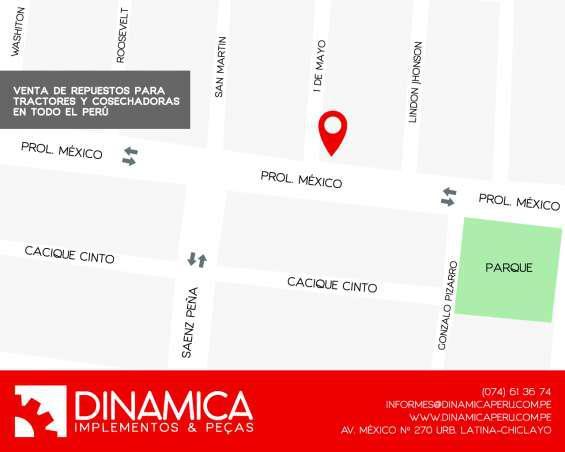 Bomba hidraulica de dirección para mf 299 en chiclayo