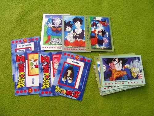 Dragon ball cartas de coleccion originales