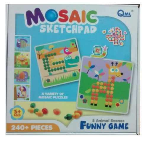 Juegos didácticos para niños de 3+años con 240 pzs.