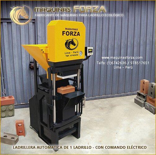 Maquinas manuales y automaticas para ladrillo ecológico