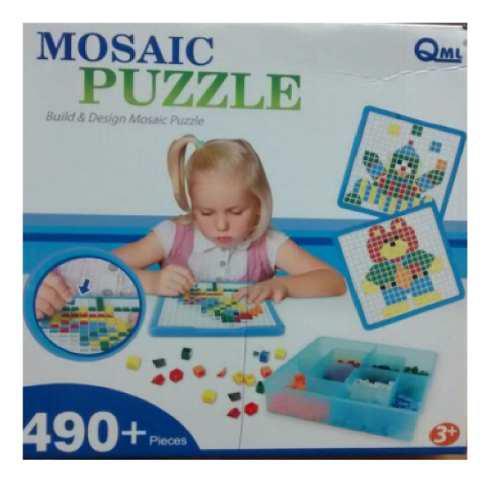 Puzzle juegos didácticos para niños de 3+años con 490