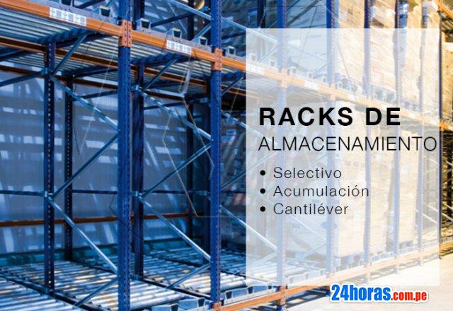 Racks y miniracks de carga pesada para almacenamiento