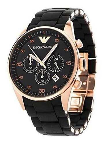 Reloj emporio armani caballero ar5905 / negro dorado