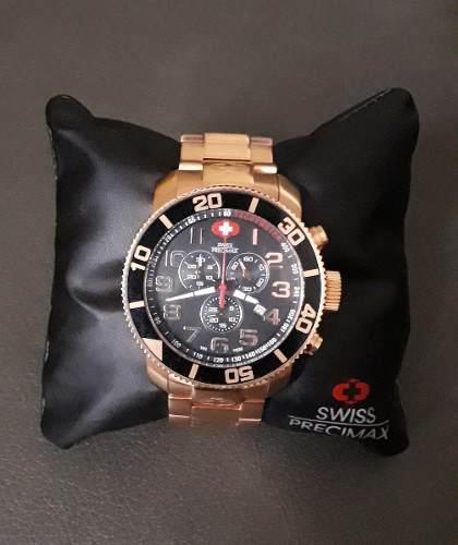 el más nuevo 350c5 c0977 Reloj Suizo Original Swiss Precimax