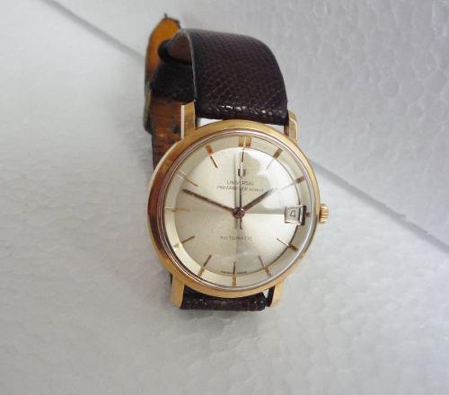28 Universal Rubies Hombre Polerouter Geneve Reloj 18k Oro QrCtdBshx