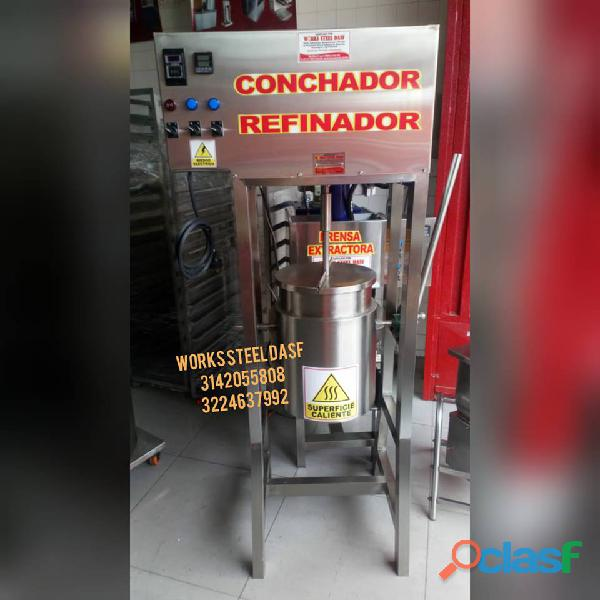 REFINADOR CONCHADOR DE CHOCOLATE