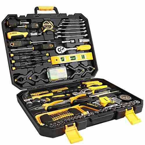 Deko 168 piece tool set para reparacion de automoviles, hoga