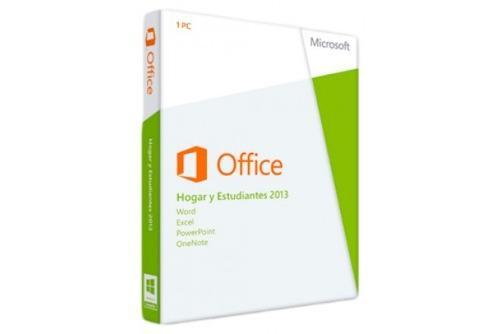 Microsoft office 2013 hogar y estudiantes - 1pc español