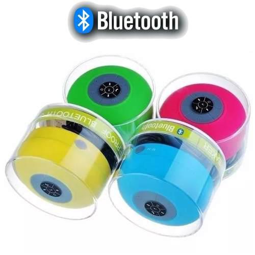 Parlante acuatico bluetooth manos libres microfono colores
