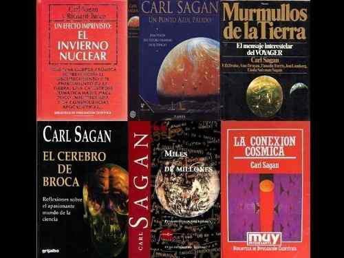 Carl sagan: todos sus libros en formato pdf