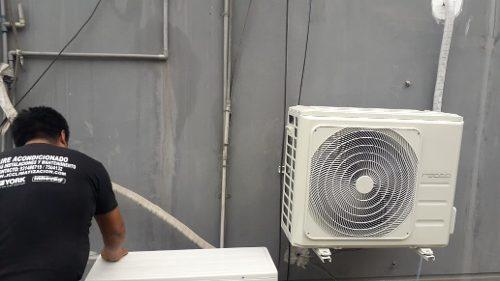 Servicios de aire acondicionado a nivel nacional.