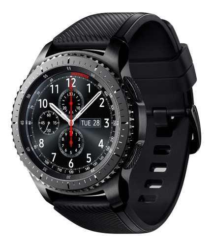 Samsung galaxy gear s3 frontier 46mm reloj smart watch negro