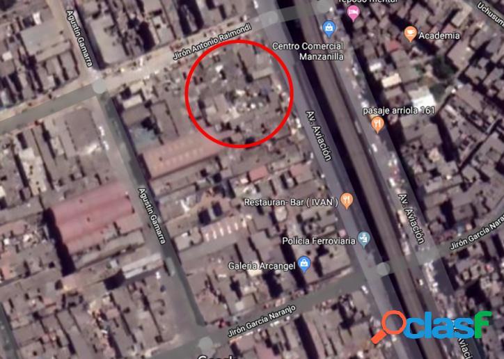Venta de Terreno en Zona muy comercial en Emporio Gamarra -00696