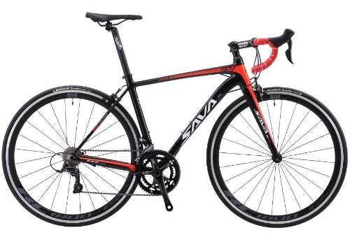Bicicleta de carrera sava, sistema shimano sora