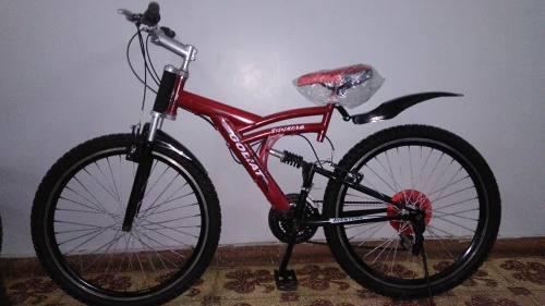 Bicicleta goliat montañera doble aro, todo terreno oferta
