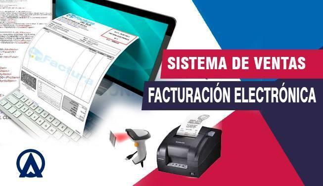 Facturación electrónica, sistema de ventas erp, software a