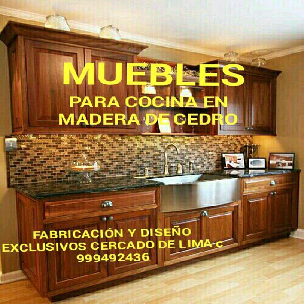 Muebles cocinas exclusivos madera 【 ANUNCIOS Septiembre ...