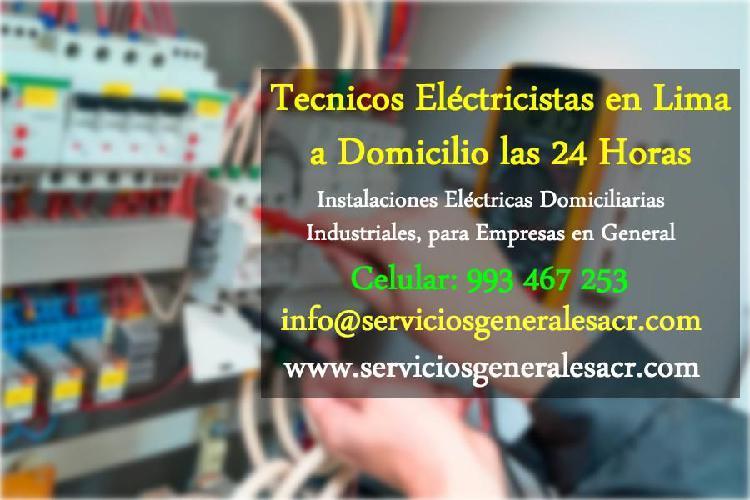 Instalaciones electricas domiciliarias, residenciales,